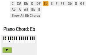 Accordi Pianoforte - Esempio 1